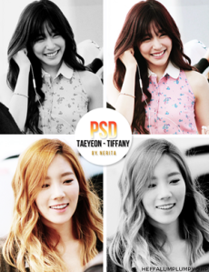 snsd_taeny_coloring__by_nerita